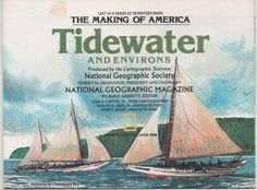 National Geographic Map The Making of America 17 Tidewater