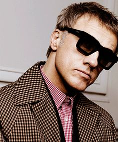 Christoph Waltz for Prada's Menswear Fall/Winter 2013 #sunglasses