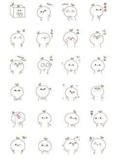 Mini Drawings, Cute Easy Drawings, Cute Kawaii Drawings, Doodle Drawings, Art Drawings Sketches, Kawaii Doodles, Cute Doodles, Doodle Characters, Cute Sketches