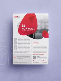Corporate Flyer Template PSD