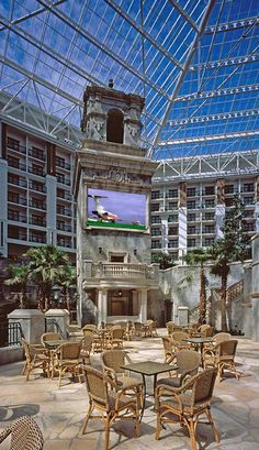 Gaylord Texan Resort - One of my most favorite hotels!
