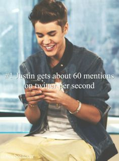 Justin Bieber reading my text:) Justin Bieber Facts, All About Justin Bieber, Justin Bieber Pictures, Love You So Much, I Love Him, Love Of My Life, Bae, Canadian Boys, Latest Albums