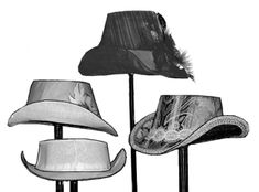TV550 - 1880s Tapered Hat Pattern