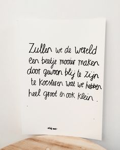 Wall Quotes, Words Quotes, Sayings, Love Words, Beautiful Words, Favorite Quotes, Best Quotes, Dutch Quotes, Magic Words