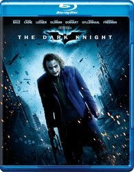 THE DARK KNIGHT BLU RAY + DVD SPECIAL 3 DISC SPECIAL EDITION (WITH THE JOKER ON THE FRONT) LIKE NEW