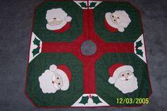 Santa Claus tree skirt.