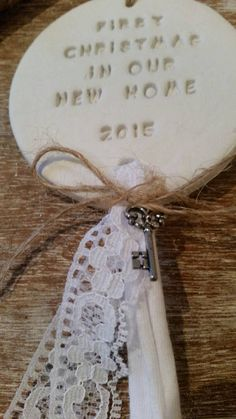First Christmas in our new home Clay by BethsClayCottage on Etsy