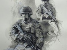 GET INFORMED. ANDREW MILLER. THE WAR ARTIST.