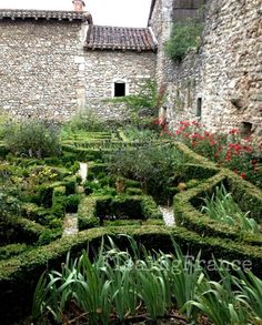 Gardens of Perouges France