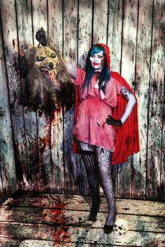 Little Dead Riding Hood - Le petit chaperon rouge #halloween