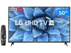 "Smart TV UHD 4K LED 50"" LG 50UN7310PSC Wi-Fi - Bluetooth Inteligência Artificial 3 HDMI 2 USB - Magazine Bicicletascia Wi Fi, Bluetooth, Usb, Tv 50"", Smart Tv 4k, Monitor, Lg Tvs, Home Theater, Bud"