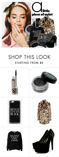 """""""lana, the ultraviolence"""" by lyla89 ❤ liked on Polyvore featuring Armani Jeans, Each X Other and Swarovski"""