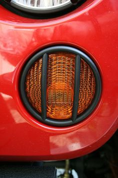 Euro Guard, Turn Signal, Black; 07-16 Jeep Wrangler JK