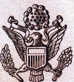 usa army symbol 1944 | us-army-eagle-1944 | Flickr - Photo Sharing!