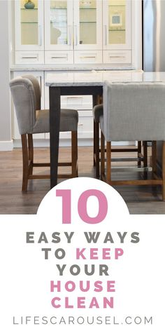 10 Easy Tips to Keep Your House Clean. Stop feeling overwhelmed by the mess and clutter. These hacks will help you keep your home clean without spending hours of time. Mattress Cleaning, Car Cleaning Hacks, Toilet Cleaning, Bathroom Cleaning, Deep Cleaning, Spring Cleaning, Cleaning Schedules, Clean Life, Clean House