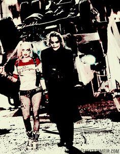 I like the idea of Margot Robbie's Harley with Heath Ledger's Joker…