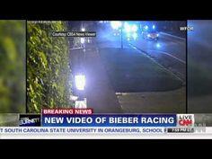 Justin Bieber Drag Race Caught On Surveillance Camera