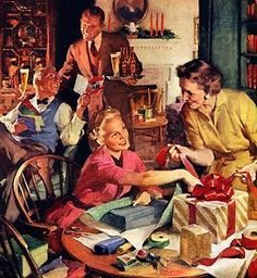 Farmhouse Country Style: Christmas Past