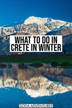 Crete in Winter: 13 Things to Do! - If you're looking for one of the warmest places in Europe in winter, look no further than Crete, - Crete Greece, Mykonos Greece, Athens Greece, Famous Lighthouses, Winter Destinations, Travel Destinations, Places In Europe, Greece Travel, Travel Europe