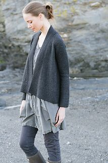 The Liv Sweater. Any worsted weight would work! Cumbria would add a lovely softness and drape.