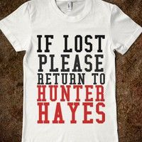 if lost please return to HUNTER HAYES!!!!!!!!!! Want Need Love (wanelo)