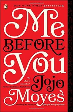 April 2016 Book Club Pick: Me Before You by Jojo Moyes | Sweet Tea in the South