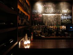 DICKSON WINE BAR...another great choice for wine in DC