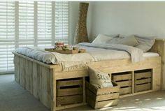 Mooi bed!