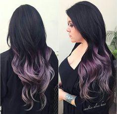 Pastel Purple Hair Color Trend Dark Black Brown to Pastel Ombre Hair Color Trends 2015 Of 97 Best Pastel Purple Hair Color Trend Pastel Ombre, Ombre Hair Color, Purple Hair, Purple Ombre, Purple Balayage, Purple Tips, Gray Ombre, Silver Ombre, Silver Hair