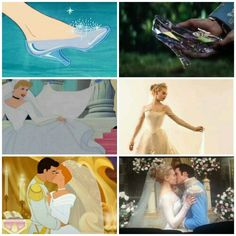 Cinderella 2015 and 1950 ♥<<<<<<<<<< and, you know, the third Cinderella that no ones heard of that came out in 2008.