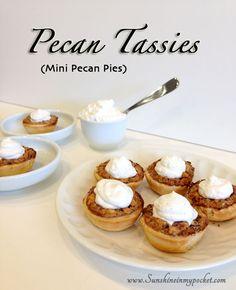 Dose of Sunshine Monday — Pecan Tassies