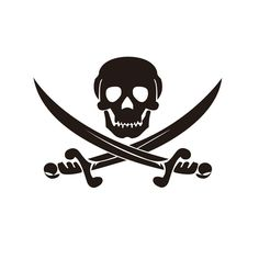 Wholesale 5pcs,10pcs,18.5*13CM Two Knives SKULL Car Stickers Terror Reflective Motorcycle Decals Car Decoration