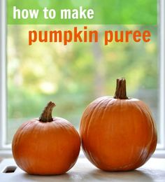 How to make pumpkin puree | Real Food Real Deals