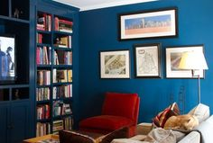 20 Bold & Beautiful Blue Wall Paint Colors