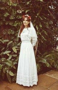 Flower child bride