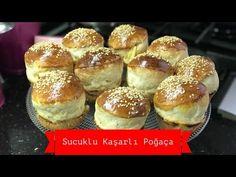 Sucuklu Kaşarlı Puf Puf Poğaça - Naciye Kesici - Kahvaltılık Tarifler - YouTube