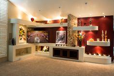 basement media center design - Google Search