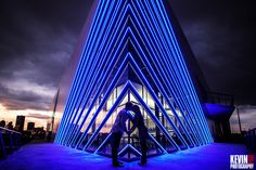 Kevin Paul Photography - The Devon Boathouse at night.