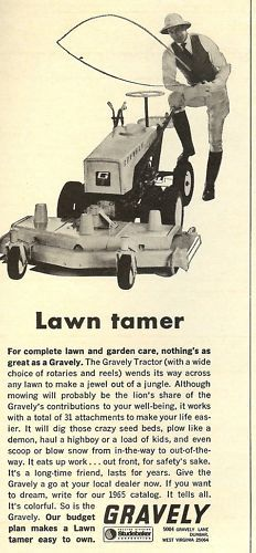 1965 Gravely 4 Wheel Tractor : Images about vintage gravely on pinterest tractors