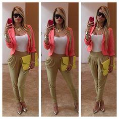 Womens fashion. Cute outfit.