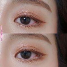 Skin Care Tips For Beautiful Skin - K beauty - Makeup Korean Makeup Look, Korean Makeup Tips, Asian Eye Makeup, Korean Makeup Tutorials, Korean Makeup Tutorial Natural, Eyeshadow Tutorials, Make Up Looks, Beauty Make-up, Beauty Hacks