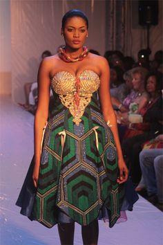 Angybell Creations @ Nigeria Fashion Week 2012 via #pinterest