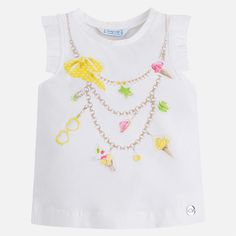 Yellow Necklace Tank