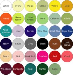 41 Best Name That Color! images in 2017 | Color theory