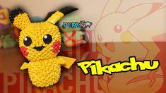 Pikachu 3D Origami   Pekeño ♥