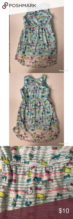 Hello kitty dress Only worn once! No holes or stains. Super cute print. Sanrio Dresses