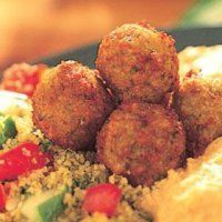 Falafel is a traditional Middle Eastern dish, Falafel is a delicious patty made from ground chickpeas or fava beans and is usually served in a pita. No Dairy Recipes, Veggie Recipes, Vegetarian Recipes, Cooking Recipes, Healthy Recipes, Middle East Food, Middle Eastern Recipes, Falafels, Recipes From Heaven