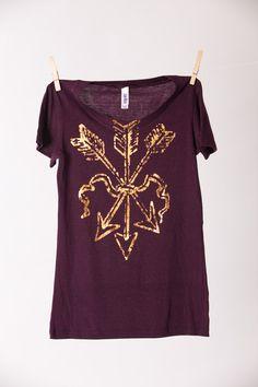 Golden Arrows T-Shirt - Bourbon & Boots | Great FSU shirt!