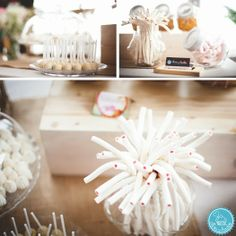 La candy bar de la boda de Jessica y Raül.