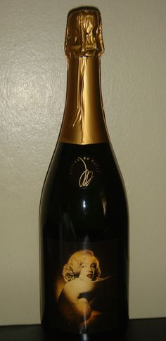 Marilyn Monroe 2004 Cuvee 3 Three North Coast Blond Sparkling Wine New Full Rare #Marilyn